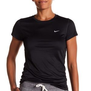 Women's Nike Miler Dri-Fit Running Shirt, Sz M